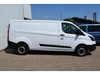 2015 Ford Transit Custom 2.2 TDCi 290 L1H1 Panel Van 5dr Diesel white Manual