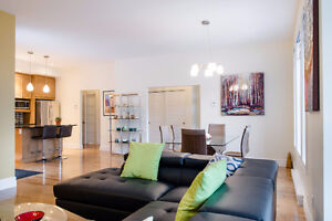 Gorgeous huge 2 bedroom apartment on Sherbrooke St (le Plateau);