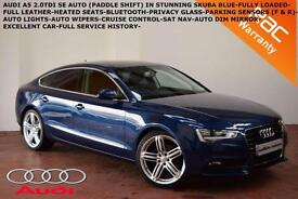 2012 Audi A5 2.0TDI (143ps) Sportback AUTO SE- HEATED LEATHER-B.TOOTH-SAT NAV-
