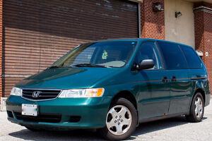 2002 Honda Odyssey LX Minivan, Van