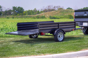 DK2 Mighty Multi Utility Tilt Trailer w/ Fold Down Gates Peterborough Peterborough Area image 3