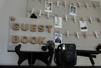 Fun Instant Photo Guest Book Rental