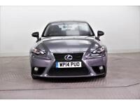 2014 Lexus IS 300H SE PETROL/ELECTRIC grey CVT