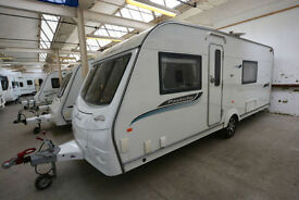 2011 Coachman Pastiche 560/4 4 Berth Touring Caravan with Fixed Bed
