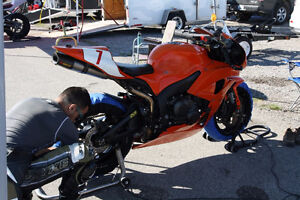 2007 CBR600RR race track bike only
