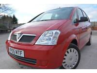 VAUXHALL MERIVA LIFE 1.4 16v 5 DOOR MPV*ONE OWNER FROM NEW*FULL 12 MONTHS MOT*