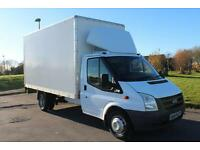 Ford Transit 2.4TDC 100 350 LWB BOX VAN WITH TAIL-LIFT LOW MILES £9995 + VAT