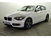 2012 BMW 1 Series 118D SPORT Diesel white Manual