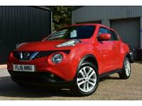 2016(16) Nissan Juke 1.2 DIG-T ( 115ps ) ( s/s ) N-Connecta, Petrol, Low Miles