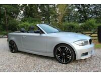 2008 (58) BMW 120i 2.0l M SPORT MANUAL PETROL CONVERTIBLE WARRANTIED LOW MILEAGE