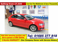 2011 - 61 - AUDI A3 2.0 TDI 138BHP 3 DOOR HATCHBACK (GUIDE PRICE)