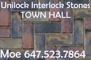 Blended Colours Unilock Pavers Traditional Paver Permeable Paver
