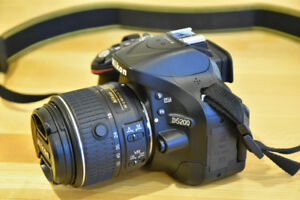 Nikon D5200 DSLR w/18-55mm VR Lens - Low Activations