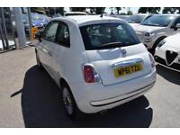 2012 Fiat 500 0.9 TwinAir Lounge (s/s) 3dr Petrol white Manual