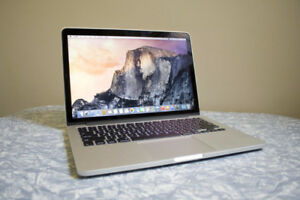 "Macbook Pro 13"" 2015, 2.9 GHz Intel Core i5, 256GB, 8GB Ram"