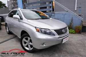 2010 Lexus RX450H GYL15R Prestige Silver Continuous Variable Wagon Tweed Heads Tweed Heads Area Preview