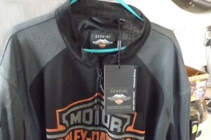 Brand new, never worn, Harley textile summer riding jacket