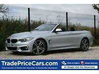 2017 66 BMW 4 SERIES 2.0 420I M SPORT 2D 181 BHP
