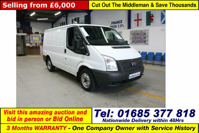 2012 - 62 - ford transit t280 2.2tdci 100ps fwd swb low roof van