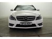 2013 Mercedes-Benz C Class C180 BLUEEFFICIENCY AMG SPORT Petrol white Automatic