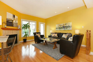 Stylish 2 bedroom stacked townhouse for rent in Manor Park $1650