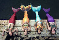 Learn to be a Mermaid: Workshops for Kids, Teens, and Adults