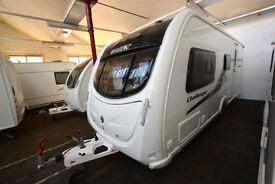 2011 Swift Challenger 530 4 Berth Touring Caravan with End Bathroom