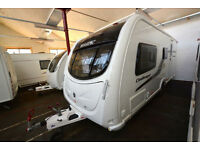 2011 Swift Challenger 530 4 Berth Touring Caravan with End Bathroom