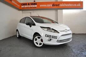 2012 Ford Fiesta 1.4TDCi Diesel Zetec £105 A Month £0 Deposit