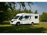2020 Compass Avantgarde 155 4 berth motorhome fixed bed in the lake district