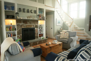 Luxe vacation rental - prime area - minutes to beaches