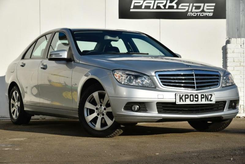 2009 mercedes benz c class 1 6 c180 blueefficiency kompressor sport 4dr in edgware london. Black Bedroom Furniture Sets. Home Design Ideas