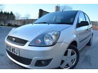 FORD FIESTA ZETEC CLIMATE 1.4 5 DOOR*TWO LADY OWNERS*FULL 12 MONTHS MOT*