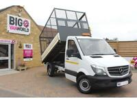 """2016 MERCEDES SPRINTER 314 CDI 140 MWB 10.5 FT """"ONE STOP"""" ALLOY TIPPER WITH CAGE"""
