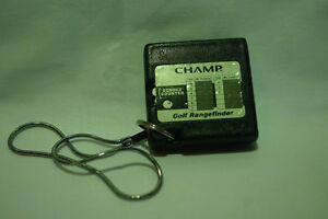 Vintage Champ golf rangefinder with stroke counter