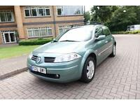 2006 Renault Megane 1.5dCi ( 106bhp ) 6sp Left hand Drive Lhd Spanish Registered