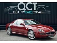 Maserati 4200 4.2 V8 Coupe Cambiocorsa 'F1' *Rosso Bologna + Avorio Leather*