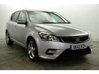 2012 Kia ceed 3 Petrol silver Manual