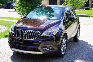 2013 Buick Encore Espresso Brown Metallic 25800KM