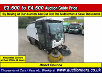 2006 - 56 - JOHNSTON 2000 4TON 2.8D AUTOMATIC SWEEPER (GUIDE PRICE)