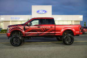 F-250 2018 Platinum UNIQUE