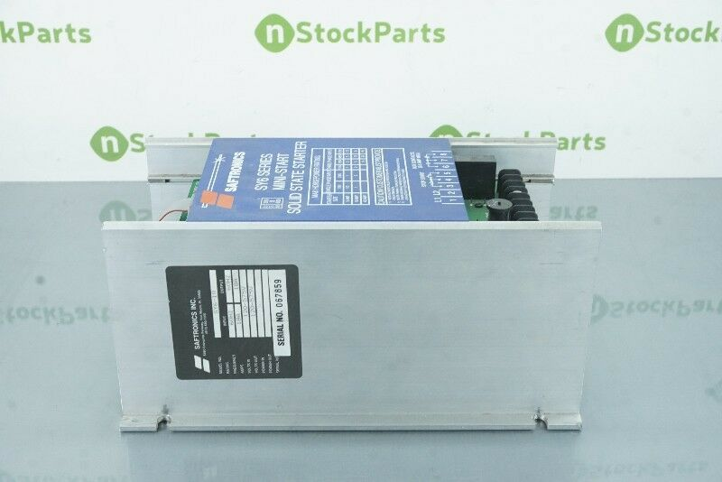 SAFTRONICS SY6-18 18 AMP MOTOR STARTER NSNB