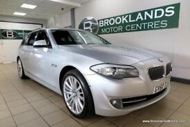 BMW 5 SERIES 530d SE TOURING Auto [10X SERVICES, SAT NAV, LEATHER and REVERSE CA