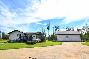 PRICE CHANGE - WOW! 5bdrm home w/shop on 20+ acres!