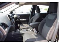 2018 Jeep Cherokee 2.2 MultiJet II Longitude Plus 4WD (s/s) 5dr Diesel black Aut