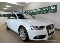 Audi A4 2.0 TDI SE TECHNIK [4X SERVICES, SAT NAV, LEATHER and 18in ALLOY WHEELS]
