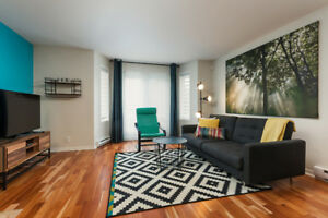 Condo 2 Bedrooms in Heart of Downtown with Parking – Autumn/Wint