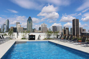 Griffintown Lowney -1 bedroom furnished / meuble JULY 1 montreal