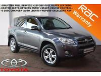 2010 Toyota RAV4 2.2D-4D 150bhp XT-R-ONLY 66K FULL SERVICE HISTORY-FULL LEATHER-