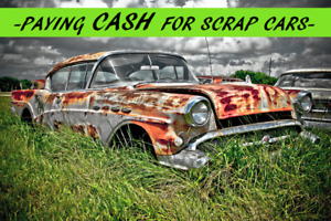 BUYING SCRAP VEHICLES